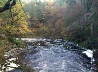 The River Braan Near Dunkeld