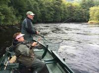 Playing A River Tay Salmon
