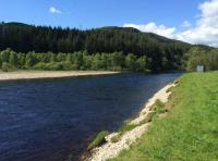 Salmon Fly Fishing Pools In Scotland