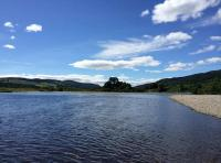 Catching Atlantic Salmon In Scotland