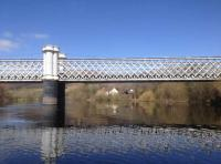 The River Tay's Logierait Bridge