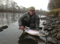Early Spring Salmon Fishing In Scotland
