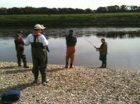 Salmon Fishing Tuition & Casting Lessons