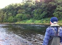Reading A Salmon Fishing Pool