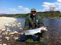 Catching A Scottish Salmon