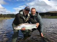 Spring Salmon Fishing River Tay