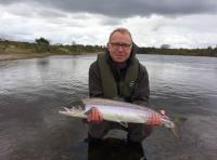 Catching A Scottish Spring Salmon