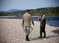 Professional Salmon Fishing Event Staff