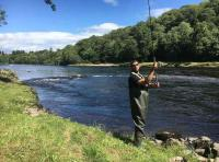 Spin Fishing The River Tay